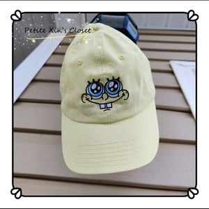 Cute SpongeBob Cap (one size for most)